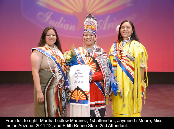 Miss Indian Arizona 2012 Court